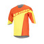 Alpinestars Crest 3/4 Sleeve Jersey Men bright orange acid yellow